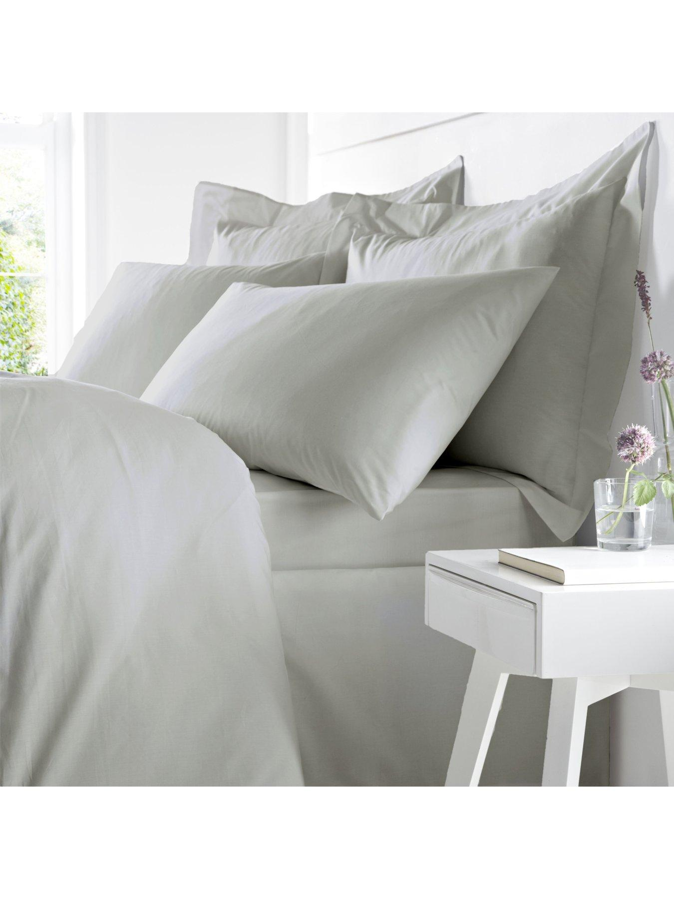 Silentnight Brushed Cotton Fitted Sheet Single Size Natural Beige NEW