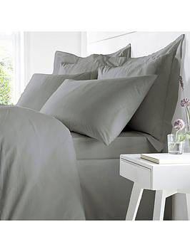 Catherine Lansfield Catherine Lansfield Bianca 100% Egyptian Cotton Double  ... Picture