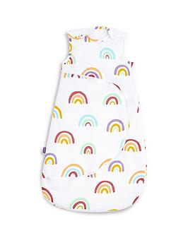 snuz-snuzpouch-sleeping-bag-25-tog-rainbow-0-6-months