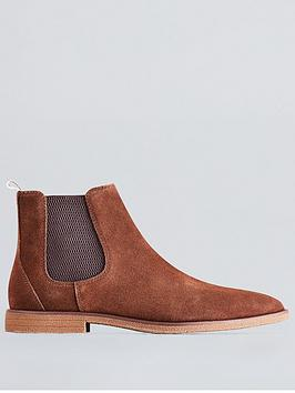 Burton Menswear London Burton Menswear London Carlton Chelsea Boots - Tan Picture