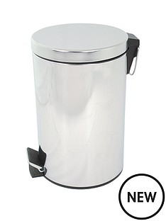 aqualona-stainless-steel-pedastal-bathroom-bin
