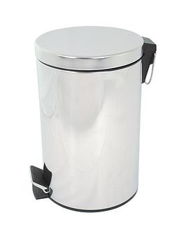 aqualona-stainless-steel-pedastal-bathroom-bin