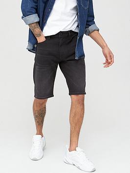 Diesel Diesel Thoshort Denim Shorts - Black Picture