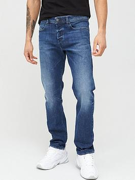 Diesel Diesel Buster Regular Tapered Fit Jeans - Mid Blue Picture