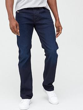 Diesel Diesel Larkee Straight Fit Jeans - Dark Wash Picture