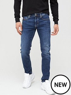 diesel-sleenker-x-skinny-fit-mid-wash-jeans-mid-blue