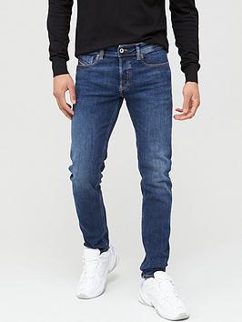 Diesel Diesel Sleenker X Skinny Fit Mid Wash Jeans - Mid Blue Picture