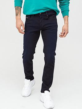 Diesel Diesel Sleenker X Skinny Fit Jeans - Navy Picture