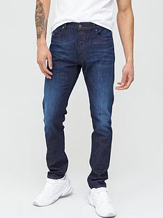 diesel-d-luster-slim-fit-dark-wash-jeans-navy