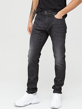 Diesel Diesel D-Luster Slim Fit Jeans - Washed Black Picture