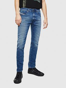 Diesel Diesel Diesel Thommer Slim Skinny Fit Vintage Wash Jeans Picture