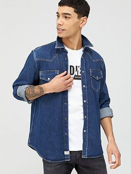 Diesel Diesel D-East P Denim Shirt - Denim Blue Picture