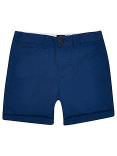 river-island-boys-chino-short-navy