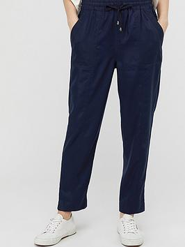 Monsoon Monsoon Harriet Tapered Jogger - Navy Picture