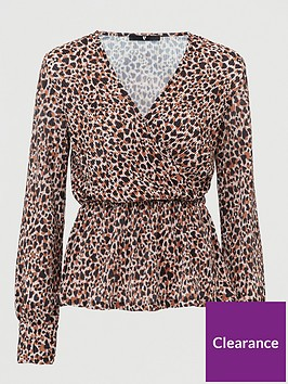 v-by-very-long-sleeve-wrap-plisse-top-animal