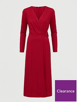 v-by-very-belted-wrap-midi-dress-red