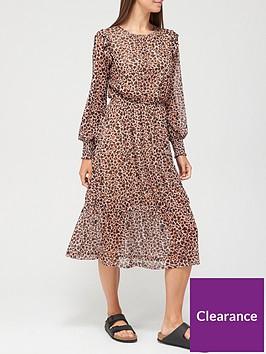 v-by-very-mesh-tiered-midi-dress-heart-leopard-print