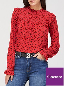 v-by-very-long-sleeve-shirred-top-red-floral