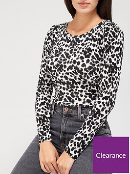 v-by-very-long-sleeve-plisse-ruche-top-animal