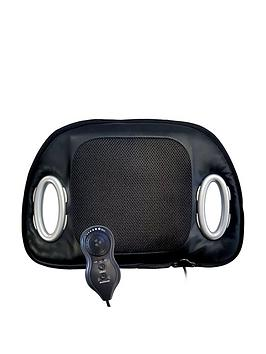 Product photograph showing Streetwize Accessories Heated Seat Cushion With Lumbar Support