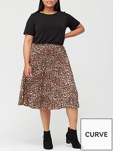 v-by-very-curve-pleated-skirt-midi-dress-blackanimal