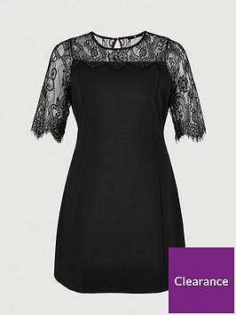 v-by-very-curve-lace-yoke-dress-black