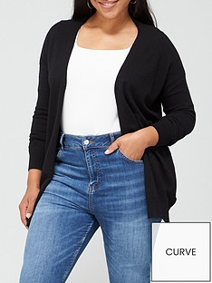 v-by-very-curve-valuenbspedge-to-edge-cardigan-black