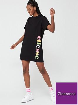 ellesse-exclusive-ened-t-shirtnbspdress-blacknbsp