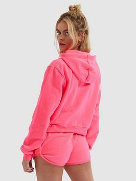 Ellesse Ellesse Heritage Gaetana Cropped Hoodie - Neon Pink Picture