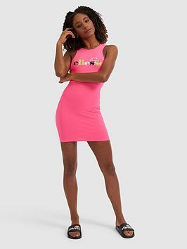 Ellesse Ellesse Heritage Verde Tank Dress - Neon Pink Picture