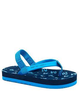 Animal Animal Boys Goofey Flip Flop - Blue Picture