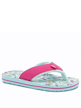 Animal Animal Girls Swish Flip Flop - Green Picture