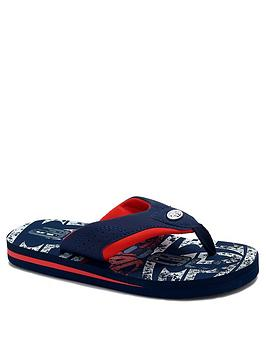 Animal Animal Boys Jekyl Flip Flop - Red Picture