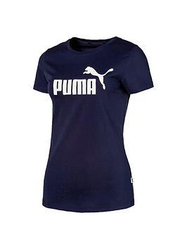 puma-essentialnbsplogo-t-shirt-navynbsp