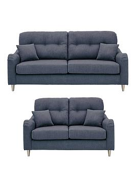 Very Toleno Fabric 3 Seater + 2 Seater Sofa Set (Buy And Save!) Picture