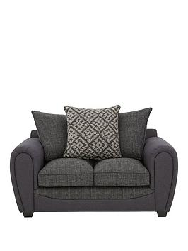 Very Harrison Compact Fabric 2 Seater Scatter Back Sofa Picture