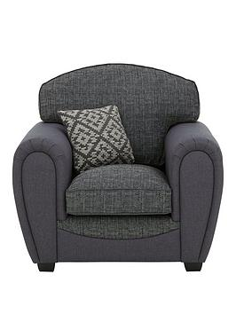 Very Harrison Compact Fabric Armchair Picture