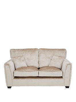 Very Glitz Fabric Standard Back 2 Seater Sofa Picture
