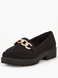 v-by-very-mayfield-cleat-sole-trim-loafers-black