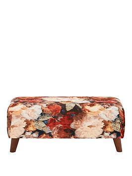 Very Nova Fabric Footstool