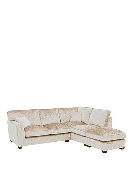 Very Glitz Fabric Standard Back Rh Corner Chaise Picture