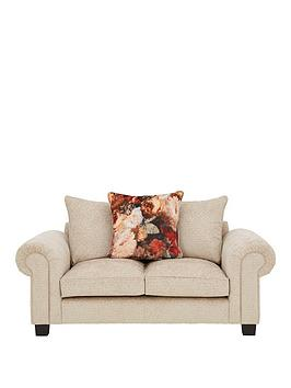 Very Belgravia Fabric 2 Seater Scatter Back Sofa Picture