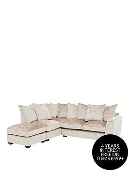 glitz-fabric-left-hand-corner-group-scatter-back-sofa-champagne