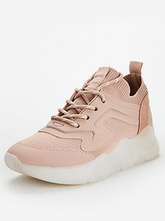 v-by-very-ainsdale-knit-clear-sole-trainers-blush