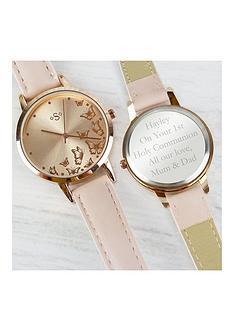 personalised-rose-gold-ladies-watch