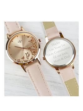 Very Personalised Rose Gold Ladies Watch Picture