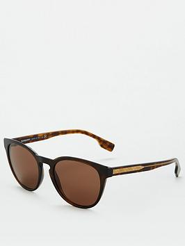 Burberry Burberry 0Be4310 Sunglasses - Dark Havana Picture