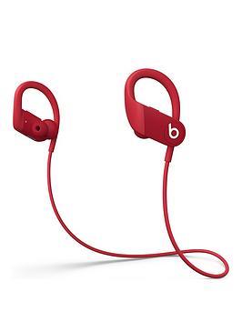 Beats by Dr Dre  Beats By Dr Dre Powerbeats High-Performance Wireless Earphones &Ndash; Red
