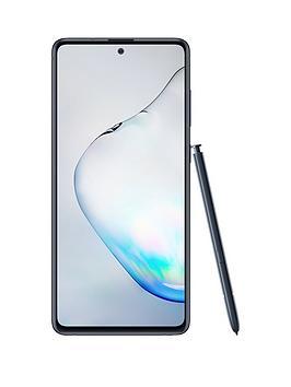 Samsung Samsung Samsung Galaxy Note 10 Lite - Aura Black Picture