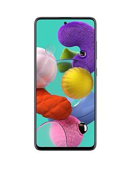 Samsung Samsung Samsung Galaxy A51 - Prism Crush Black Picture
